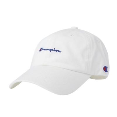 チャンピオン キャップ ツイルキャップ 181-019A ホワイト 帽子 : ホワイト Champion