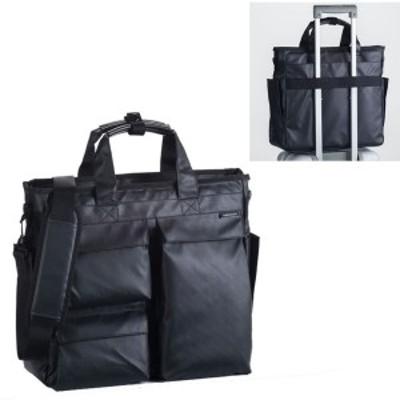 【限定クーポンあり】ビジネスバッグ 2way メンズ  ブリーフケース 仕事 出張 通勤 メンズ  b4ファイルサイズ ハミルトン ダブルPUシリー