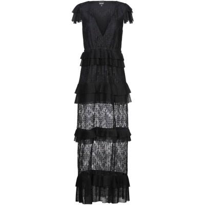 ジャストカヴァリ JUST CAVALLI ロングワンピース&ドレス ブラック 48 ポリエステル 100% ロングワンピース&ドレス