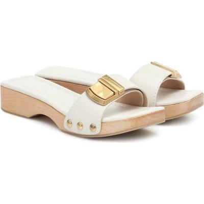 ジャックムス Jacquemus レディース サンダル・ミュール シューズ・靴 Les Sandales Tatanes leather sandals Off White