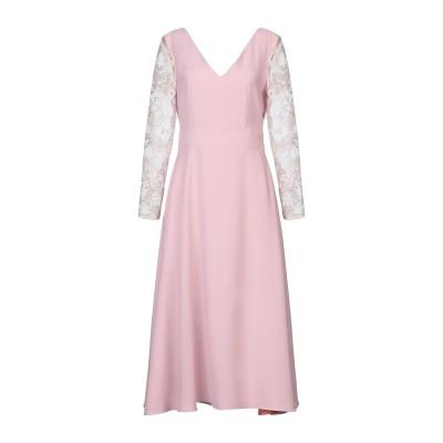 ALEX VIDAL 7分丈ワンピース・ドレス ピンク 36 ポリエステル 100% / ナイロン 7分丈ワンピース・ドレス