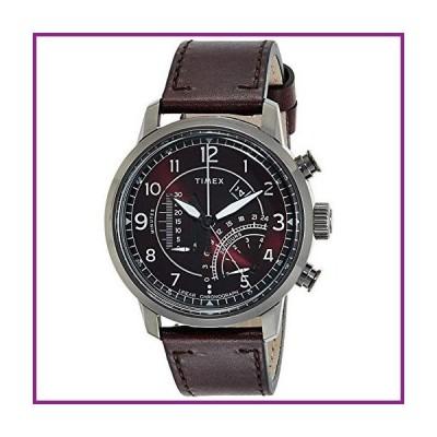 Timex Waterbury Linear Quartz Movement Red Dial Men's Watch TW2R69200【並行輸入品】
