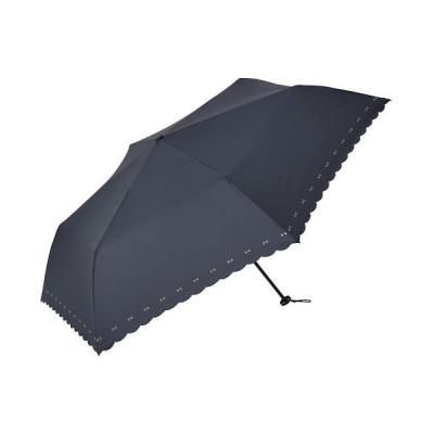 (BACKYARD/バックヤード)niftycolors ニフティカラーズ スマートライト ミニ 折りたたみ傘 55cm/ユニセックス ネイビー系2