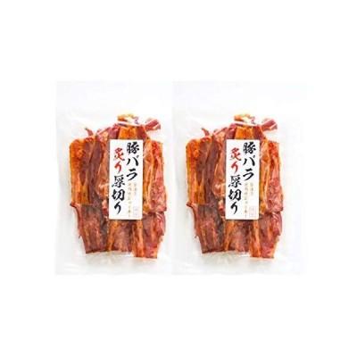 炙り 厚切り 豚バラジャーキー 200g x 2袋 業務用 おつまみ 醤油漬け