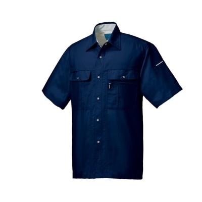 KURODARUMA 26618 リラックスカット半袖シャツ 作業服