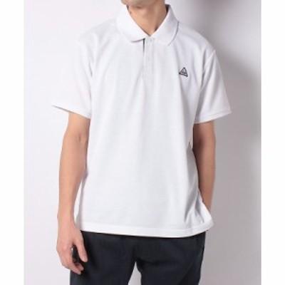 【セール】 タラスブルバ トレッキング アウトドア 半袖シャツ ドライミックスカノコ ポロシャツ TB-S20-014-025 WHT メンズ ホワイト