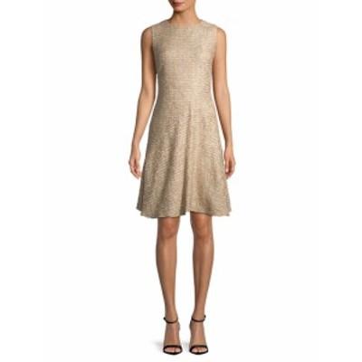オスカーデラレンタ レディース ワンピース Tweed A-Line Dress