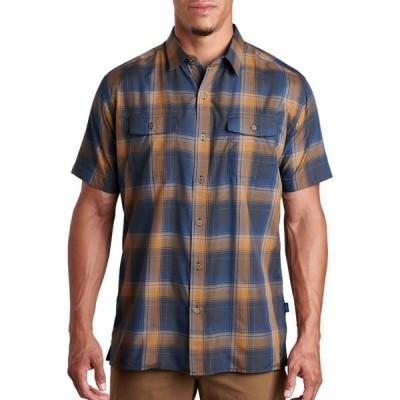 キュール シャツ メンズ トップス Response Shirt - Men's Midnight Gold