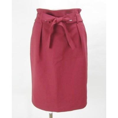 ビアッジョブルー Viaggio Blu ピンクスカート 0