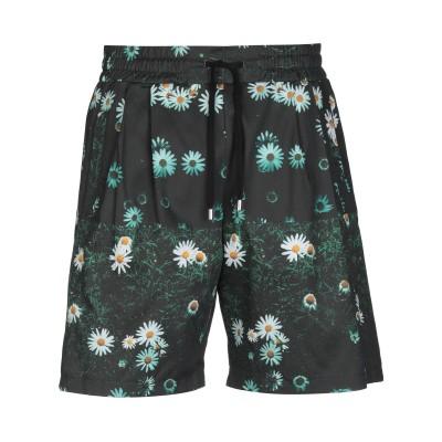 CLOTHSURGEON® バミューダパンツ ブラック XL コットン 100% バミューダパンツ