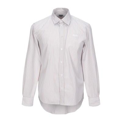 エムエスジーエム MSGM シャツ サンド 40 コットン 100% / ポリエステル シャツ