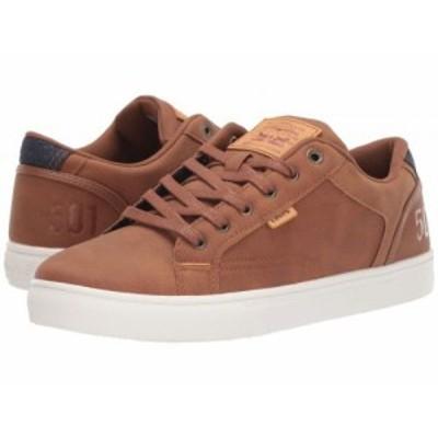 Levis(R) Shoes リーバイス メンズ 男性用 シューズ 靴 スニーカー 運動靴 Jeffrey 501 Tan【送料無料】