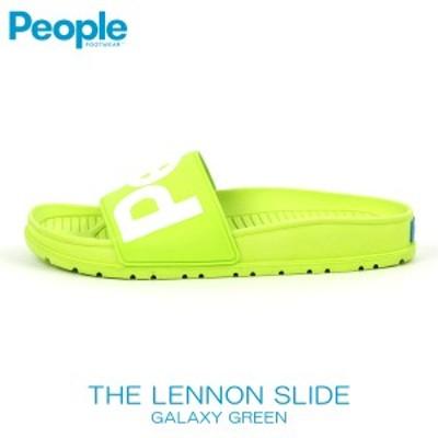 敬老の日 ピープルフットウェア PEOPLE 正規品 メンズ 靴 シューズ サンダル レノン スライド THE LENNON SLIDE NC04S-017 GALAXY GREEN