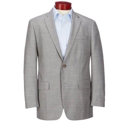 ラルフローレン メンズ ジャケット・ブルゾン アウター Classic Fit Solid Grey Wool Blend Sportcoat