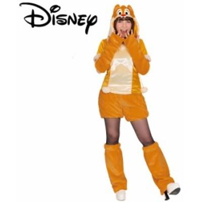ハロウィン コスプレ ディズニー 衣装  大人 仮装 モコモコ チップ&デール デール ディズニーランド コスチューム ハロウイ