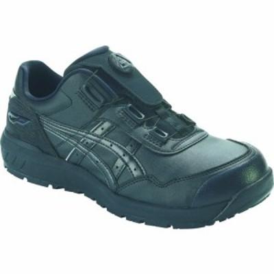 アシックス ウィンジョブCP306 BOAブラック/ブラック 25.5cm (1足) 品番:1273A029.001-25.5