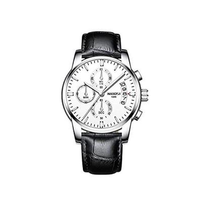 メンズウォッチ ラグジュアリー ファッション カジュアル ドレス クロノグラフ 防水 ミリタリー クォーツ 腕時計 メンズ