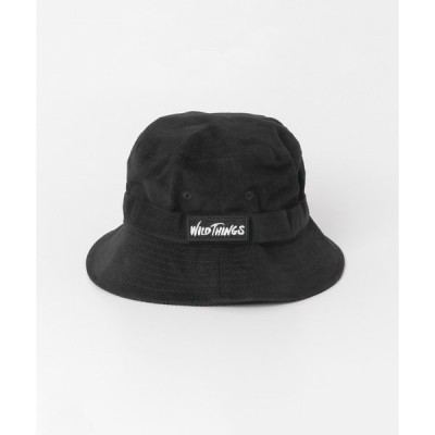 帽子 ハット 【WEB/一部店舗限定】WILDTHINGS コーデュロイバケット