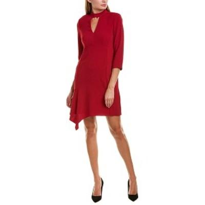 ナネットレポー レディース ワンピース トップス Nanette Lepore Shift Dress ruby