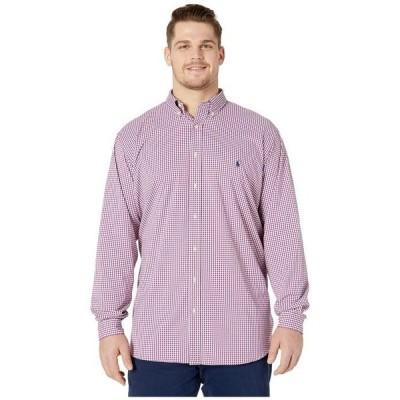ラルフローレン メンズ シャツ トップス Big & Tall Long Sleeve Performance Woven Shirt
