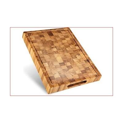 エンドグレイン木製まな板。 16X12