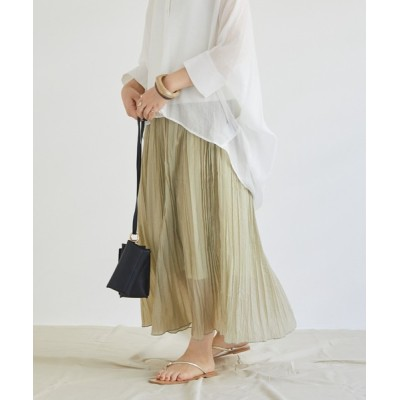 archives / ランダムプリーツスカート WOMEN スカート > スカート