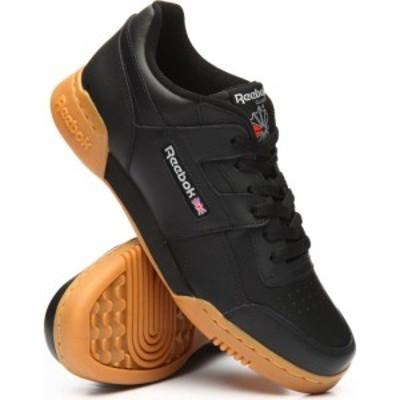 リーボック Reebok メンズ スニーカー シューズ・靴 workout plus sneakers Black
