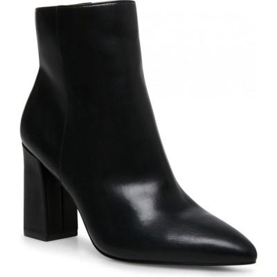 マッデン ガール Madden Girl レディース ブーツ ブーティー シューズ・靴 Flexx Pointed-Toe Booties Black Smooth