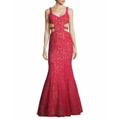 ラファム レディース ワンピース Printed V-Neck Mermaid Dress