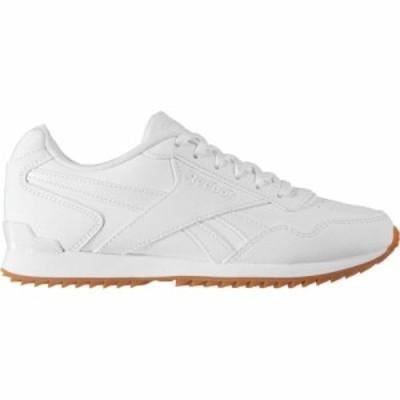 リーボック Reebok レディース スニーカー シューズ・靴 Royal Glide Ripple Clip Trainers White/White/Gum