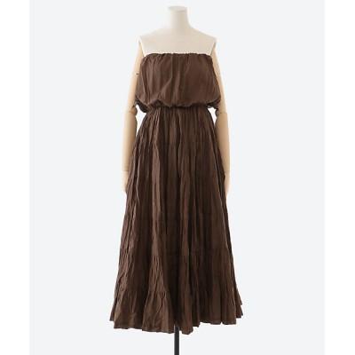 <MARIHA(Women)/マリハ> 草原の夢のドレス チョコレート【三越伊勢丹/公式】