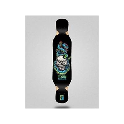 Skate Skateboard Longboard Deck 46x9 Txin Blue Snake好評販売中