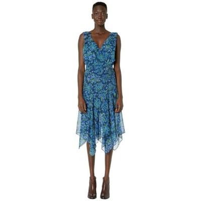 ザ・クープルス レディース ワンピース トップス Camelia Print Maxi Asymmetrical Dress