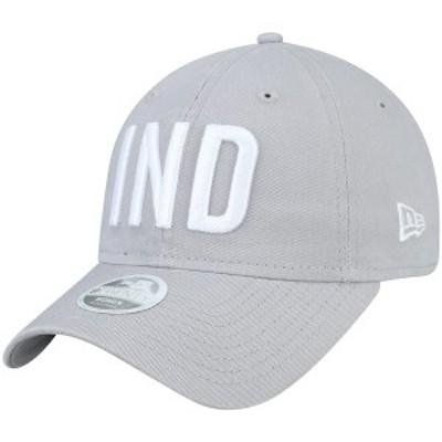 ニューエラ レディース 帽子 アクセサリー Indianapolis Colts New Era Women's Team Hometown 9TWENTY Adjustable Hat Gray