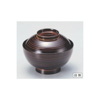 丼碗 4.5寸乱引椀漆調朱合春慶 高さ76 直径:137/業務用/新品