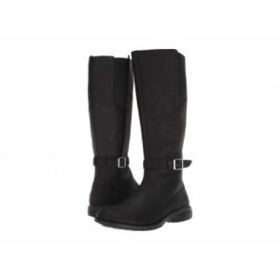 Merrell メレル レディース 女性用 シューズ 靴 ブーツ ロングブーツ Andover Tall Waterproof Black【送料無料】