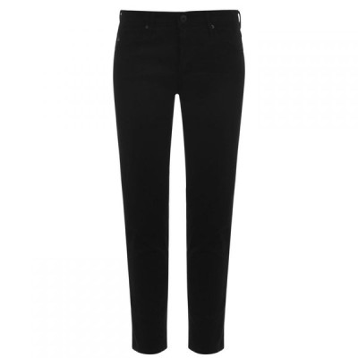 エージージーンズ AG Jeans レディース ジーンズ・デニム ボトムス・パンツ Prima Crop Jeans Super Black