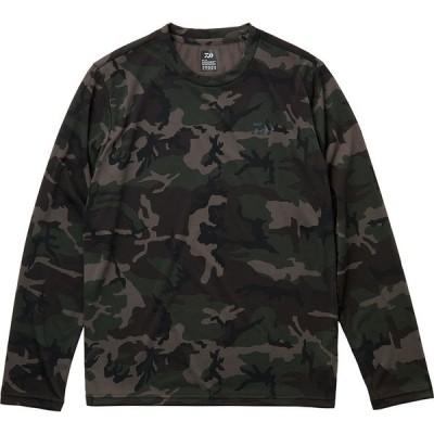 ダイワ (Daiwa) DE-8221 グリーンカモ Lサイズ(ロングスリーブFeel Alive.Tシャツ)