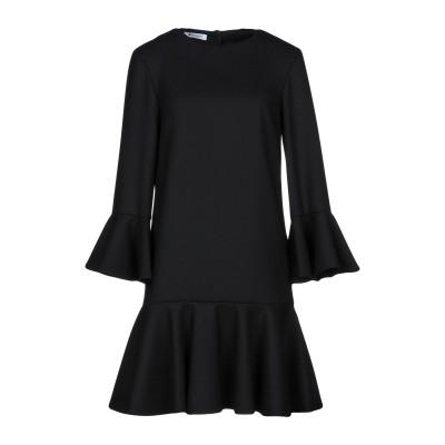 ドンダップ DONDUP ミニワンピース&ドレス ブラック 38 97% バージンウール 3% ポリウレタン ミニワンピース&ドレス