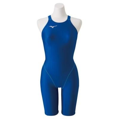 ミズノ 競泳用ハーフスーツ(レースオープンバック)[ジュニア] 27ブルー 130 スイム 競泳水着 STREAM ACE N2MG0422
