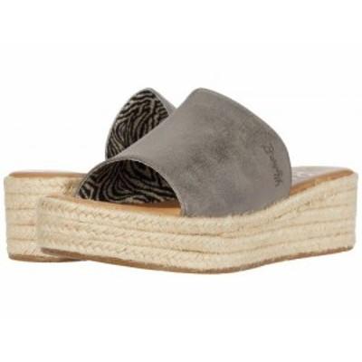 Blowfish ブローフィッシュ レディース 女性用 シューズ 靴 ヒール Leigh Pewter Meteorite Metallic【送料無料】
