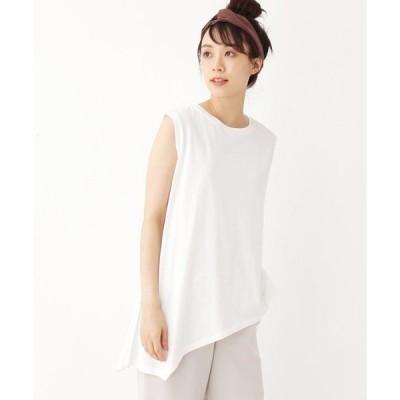 tシャツ Tシャツ 【42(LL)WEB限定サイズ】アシンメトリートップス
