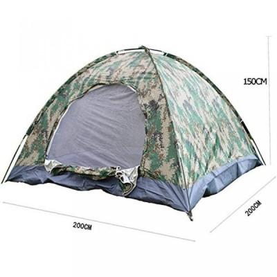 テント 4 Person Outdoor Camping Waterproof 4 Season Folding Tent Camouflage Hiking
