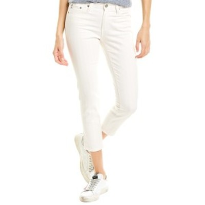 エージージーンズ レディース デニムパンツ ボトムス AG Jeans The Prima 1 Year Coastal Stripe Cigarette Crop 1 Year Coastal Stripe