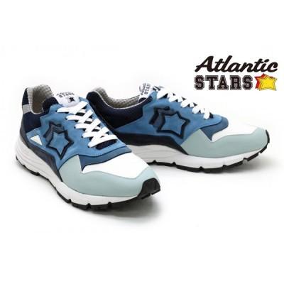 アトランティックスターズ / Atlantic STARS メンズ スニーカー polaris-acqf07 ポラリス ブルー イタリア製