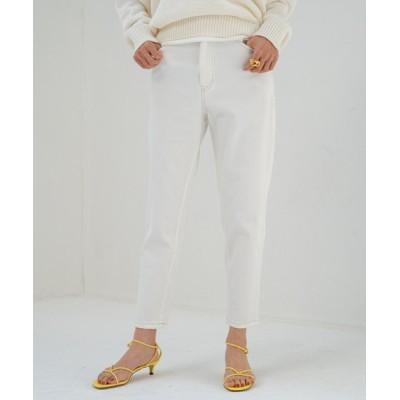 Loungedress / カラーツイルテーパードパンツ WOMEN パンツ > デニムパンツ