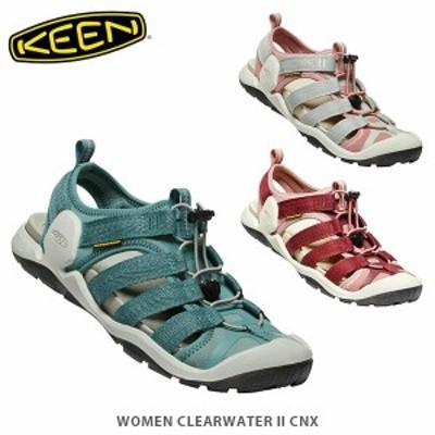 送料無料 KEEN キーン サンダル レディース クリアウォーター ツー シーエヌエックス WOMEN CLEARWATER II CNX KEE0390 国内正規品