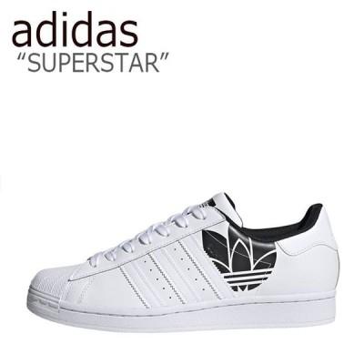 アディダス スーパースター スニーカー adidas メンズ レディース SUPERSTAR スーパー スター WHITE ホワイト BLACK ブラック FY2824 FLADBA3U34 シューズ