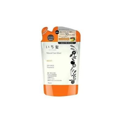 いち髪 ナチュラルケアセレクト モイストトリートメント 詰替え 340mL シトラスフローラルの香り