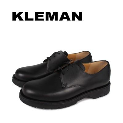 【スニークオンラインショップ】 KLEMAN クレマン 靴 シューズ プレーントゥ メンズ DORMANCE P1 ブラック 黒 メンズ その他 44:27.5-28.0cm SNEAK ONLINE SHOP